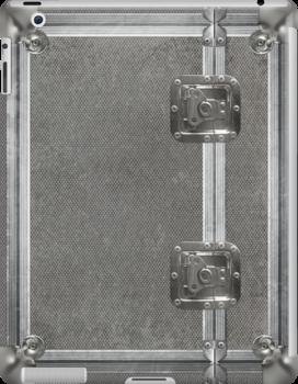 Flightcase (Silver) iPad Case by abinning