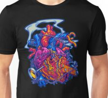 BUSTED HEART Unisex T-Shirt