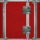 Flightcase (Red) iPad Case by Alisdair Binning