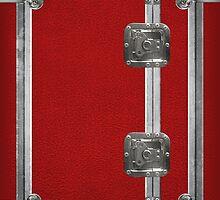 Flightcase (Red) iPad Case by Alisdair Binning