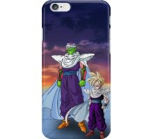 Piccolo and Gohan iPhone Case/Skin