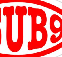 Sub9 Fish Sticker
