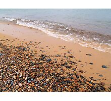 Windy Day on Whitefish Point IV Photographic Print