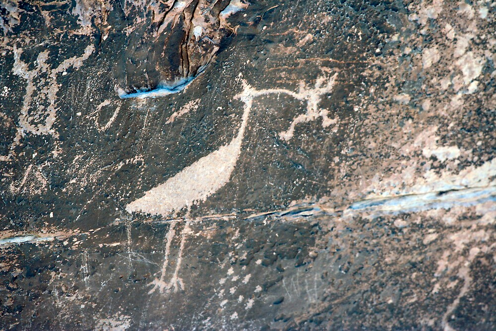 Rio Puerco Petroglyph by Chris Clarke
