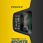 Phony Talkman iPhone Case (Sony Walkman Sports style) by Alisdair Binning