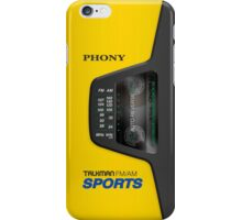 Phony Talkman iPhone Case (Sony Walkman Sports style) iPhone Case/Skin