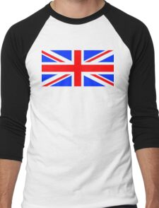 British Flag Men's Baseball ¾ T-Shirt