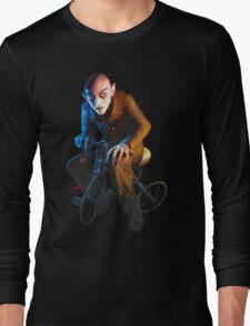 Nosferatu On A Tricycle Long Sleeve T-Shirt