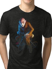 Nosferatu On A Tricycle Tri-blend T-Shirt