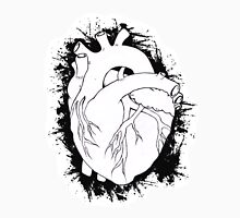 Anatomical Heart  With Black Unisex T-Shirt