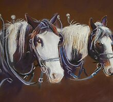 'Working Pair' by Lynda Robinson