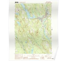 Maine USGS Historical Map Norway 102838 2000 24000 Poster