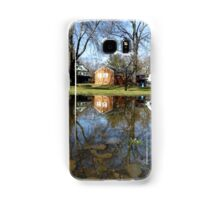 Reflection shed Samsung Galaxy Case/Skin
