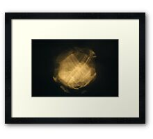 Light Play - Time's Running Out Framed Print