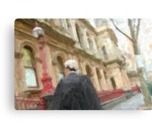 lawyer on the go! Canvas Print