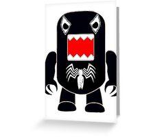 Domo Venom Greeting Card