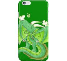 St. Patrick's Day Dragon iPhone Case/Skin