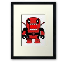 Domo Deadpool Framed Print