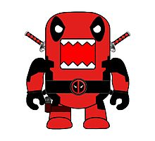Domo Deadpool Photographic Print