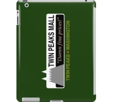Twin Peaks Mall iPad Case/Skin