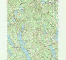 Maine USGS Historical Map Norway 306695 1946 62500 by wetdryvac