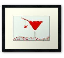 Holiday Bubbly Framed Print