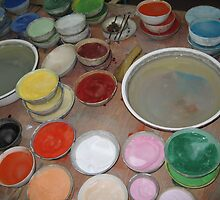 Paint Pots by minimalgal