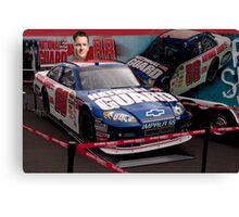 ✪ ✣ ✤DALE EARNHARDT JR NASCAR @ DOVER MONSTER MILE SPEEDWAY✪ ✣ ✤ Canvas Print