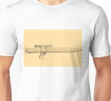 Pen and weapon Unisex T-Shirt