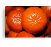Orange Fruit Canvas Print