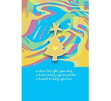 Christmas Card - Swish Wish Tree Photographic Print