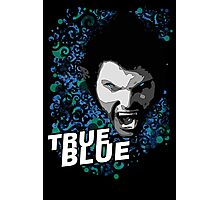 True Blue Photographic Print