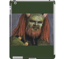 Triangle - Olaf the Troll - BtVS iPad Case/Skin