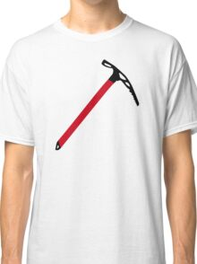 Ice climbing pick axe Classic T-Shirt