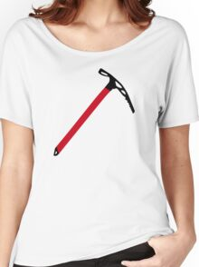 Ice climbing pick axe Women's Relaxed Fit T-Shirt