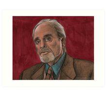 Checkpoint - Quentin Travers - BtVS Art Print