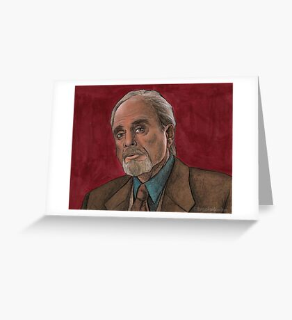 Checkpoint - Quentin Travers - BtVS Greeting Card