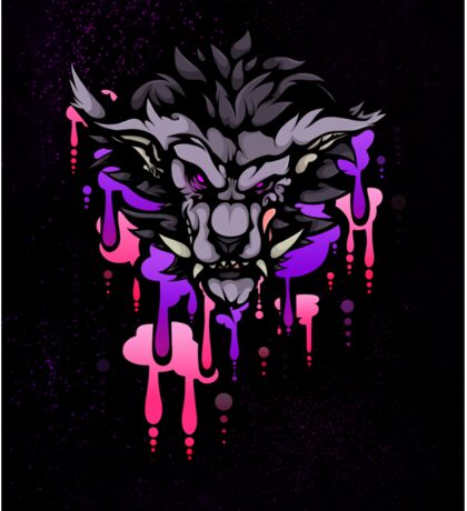 Werewolf Sticker