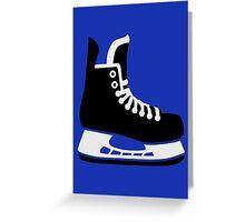 Hockey skate Greeting Card
