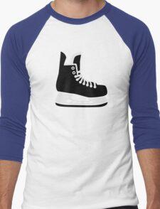 Hockey skate Men's Baseball ¾ T-Shirt