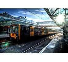 Tyne & Wear Metro At Tynemouth Station Photographic Print