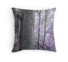 Lavender Forest Throw Pillow