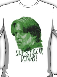 The Big Lebowski DUDE Donny Green T-Shirt