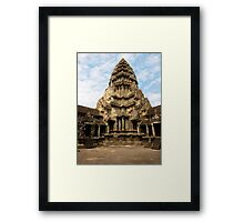 Into The Sky Framed Print