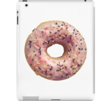 Isolated Pastel Pink Donut iPad Case/Skin