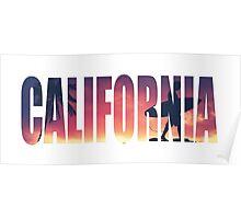 Vintage Filtered California Postcard Poster