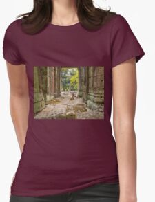 Child And A Rock Womens Fitted T-Shirt