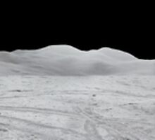 Apollo 15 : Amazing Panoramic Picture Taken on the Moons surface by verypeculiar