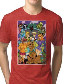 Scooby Doo Gang  Tri-blend T-Shirt
