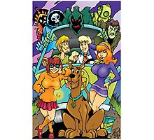 Scooby Doo Gang  Photographic Print